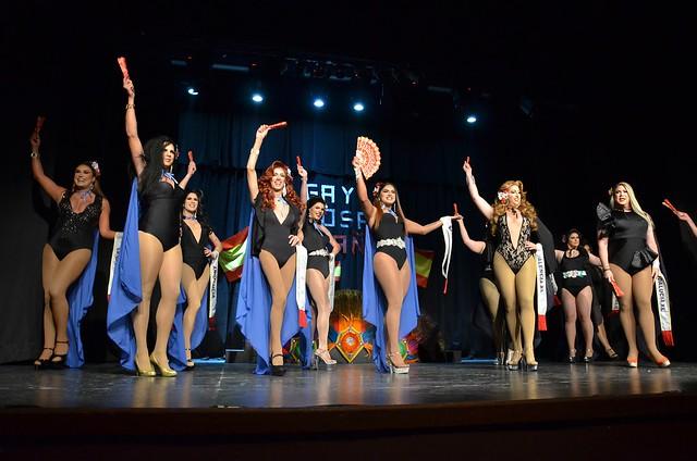 Certamen Gay Diosa España 2019 en el Teatro Municipal de Tías