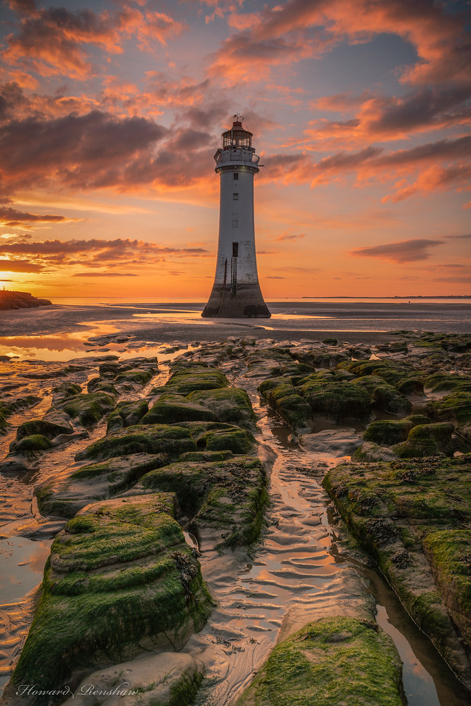 Perch Rock Lighthouse, New Brighton, Wirral.
