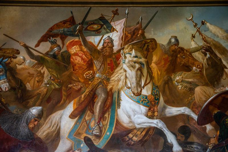 Gemälde Hermann Wislicenus in der Kaiserpfalz
