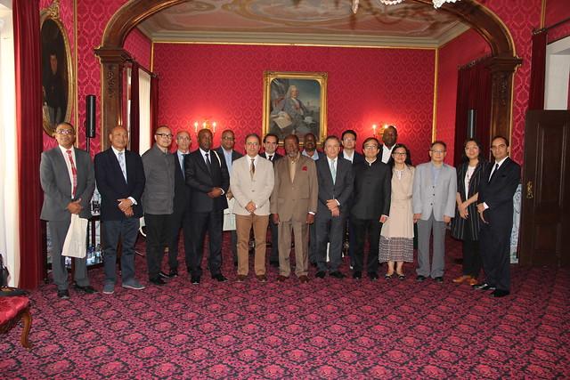Receção aos convidados internacionais para inauguração da Academia Sino-Lusófona da UC
