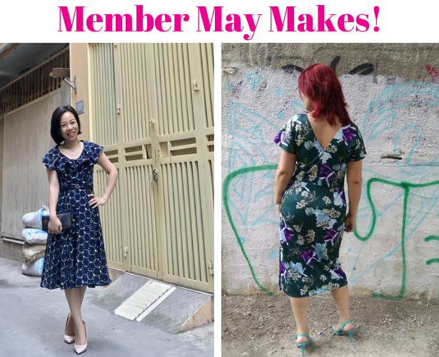 Burda Challenge May 2019 Member Makes 1