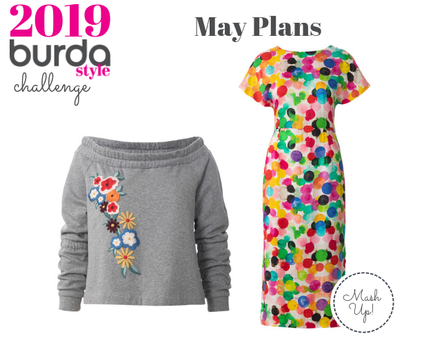 Burda Challenge May 2019 Meg May Plans