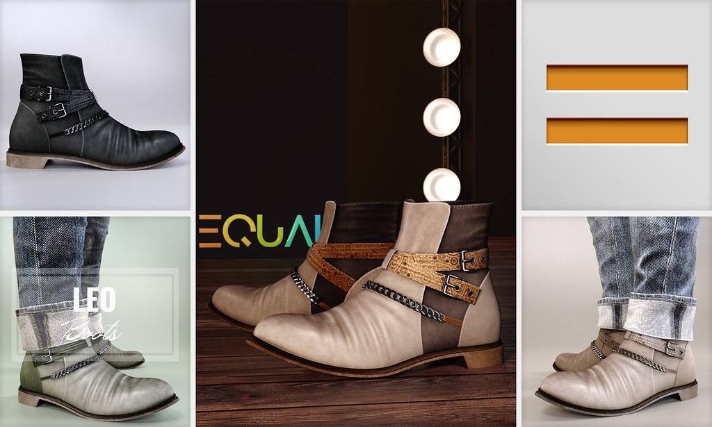 EQUAL – Leo Boots