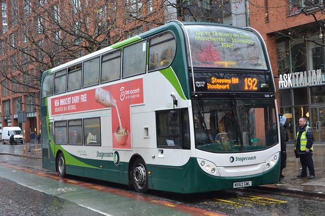 Stagecoach Manchester 12205 MX62GWL