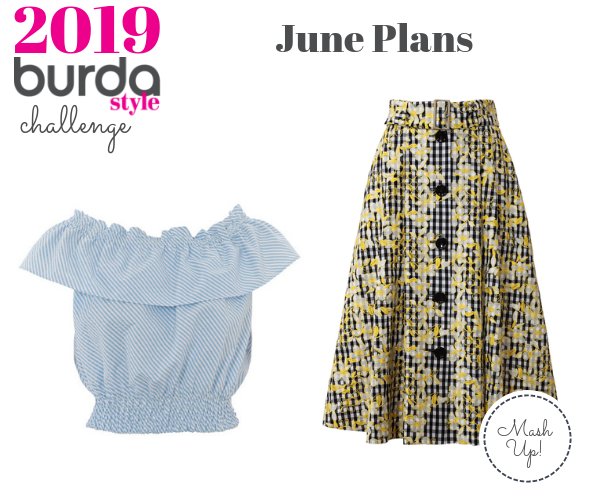 Burda Challenge May 2019 June Plans