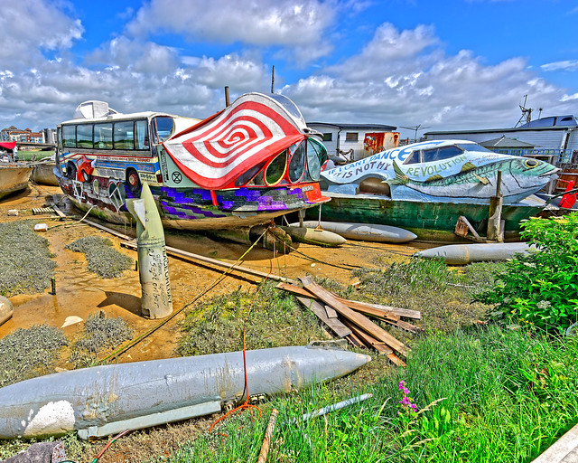 Peculiar Houseboats