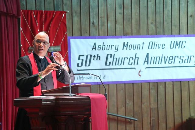 Asbury Mount Olive UMC 50th anniversary