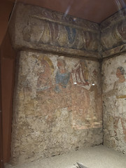 Painted tomb (1799) from Sarno: warrior returning