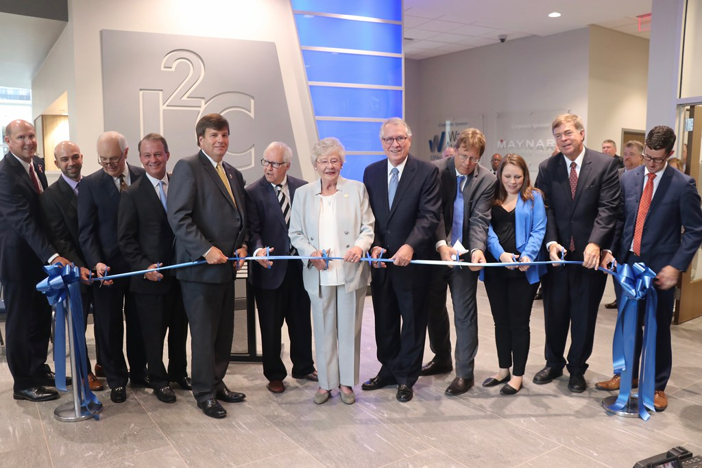 UAH i2C Ribbon Cutting - 26