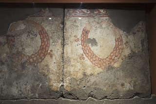 Painted tomb (1801) from Sarno: garlands