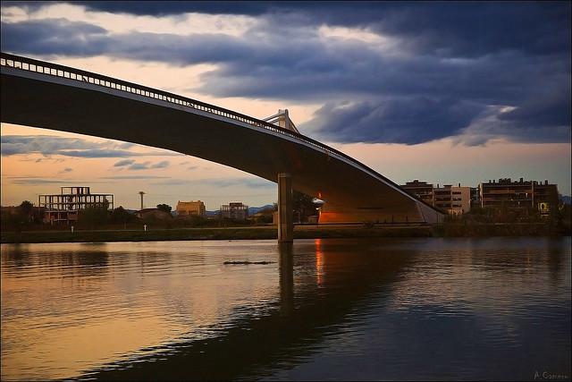 Lo passador. -Río Ebro-