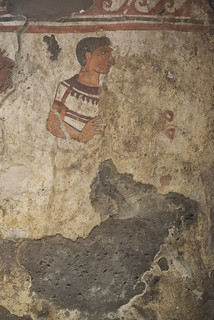 Painted tomb (1801) from Sarno: first man