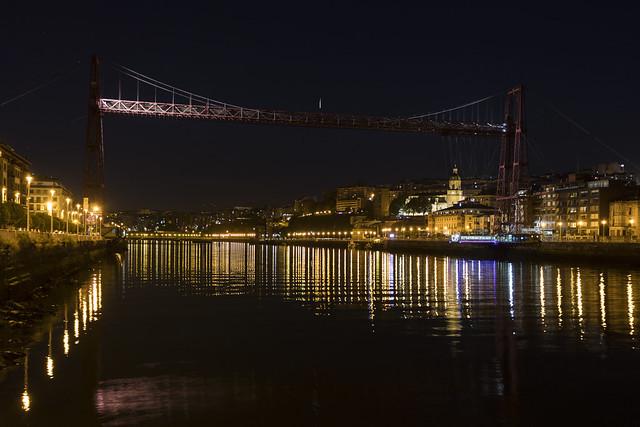 Bizkaiko Zubia. Puente Bizkaia