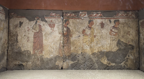Painted tomb (1801) from Sarno
