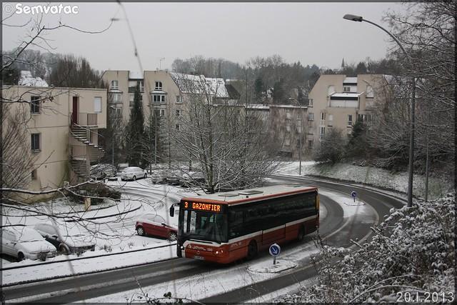 Irisbus Citélis 12 - Setram (Société d'Économie Mixte des TRansports en commun de l'Agglomération Mancelle) n°130
