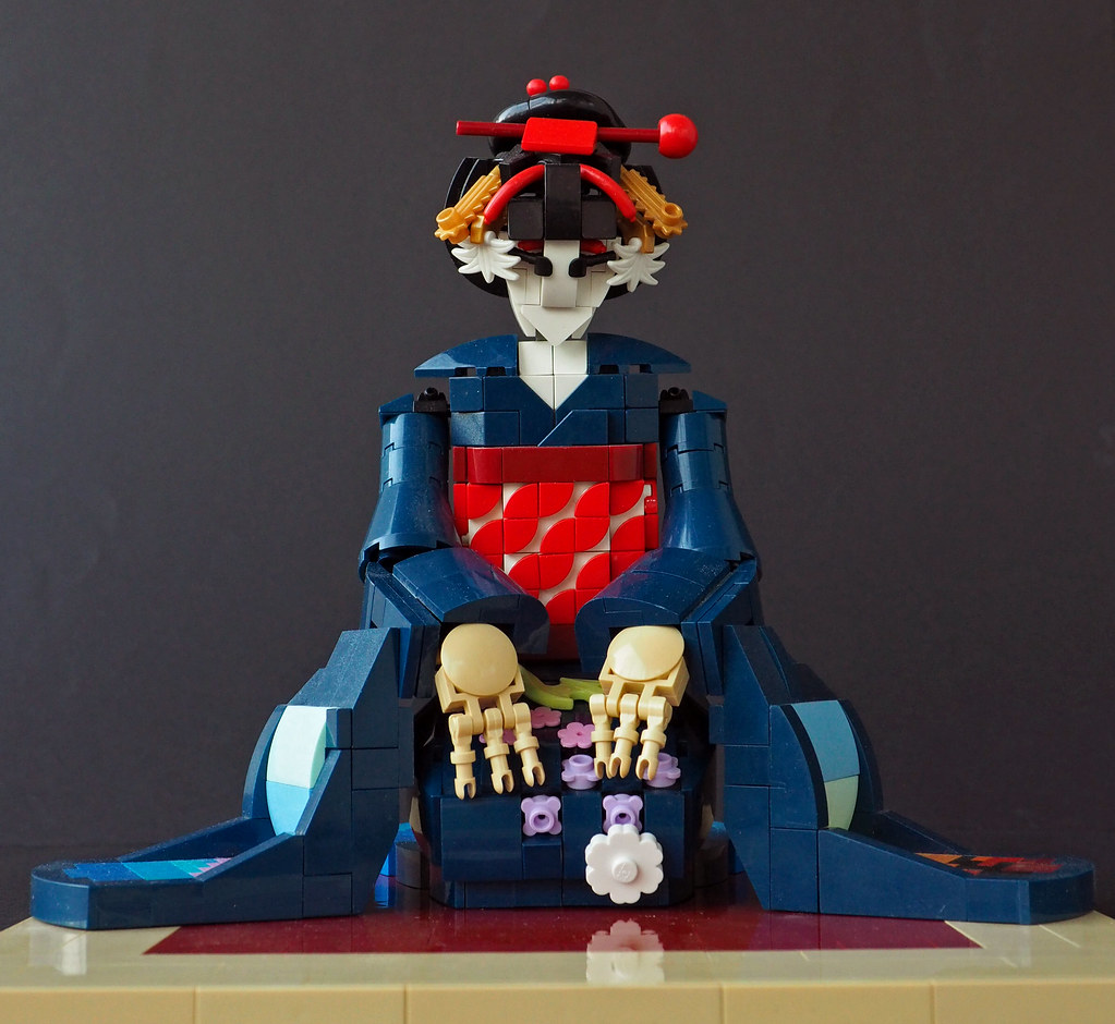Maiko (custom built Lego model)