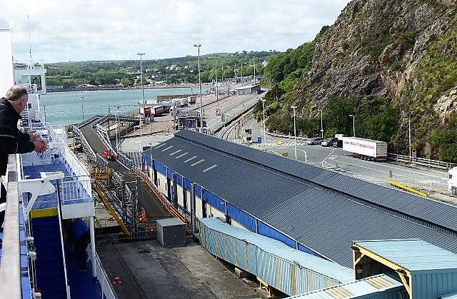 Fishguard Harbour - ferry and rail terminal