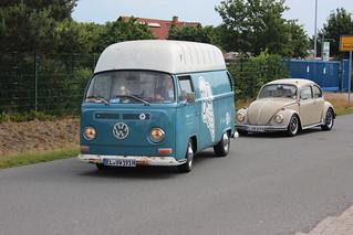 Volkswagen Bulli T2        EL VW 191 H       Haselünne Classics & Burgers 10.06.2019