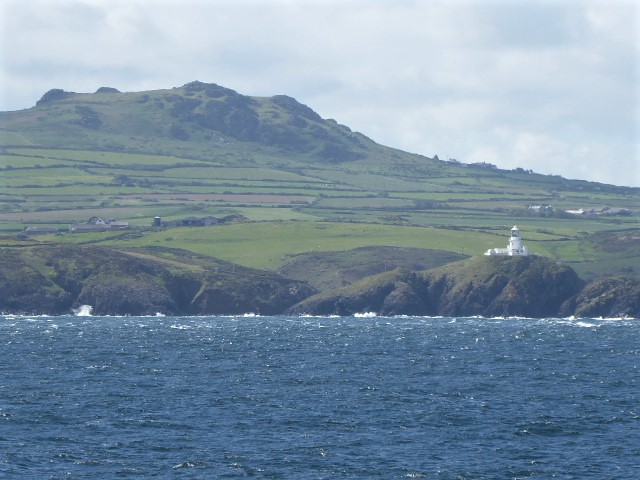 Craggy coast of Pembrokeshire, near Fishguard, Wales