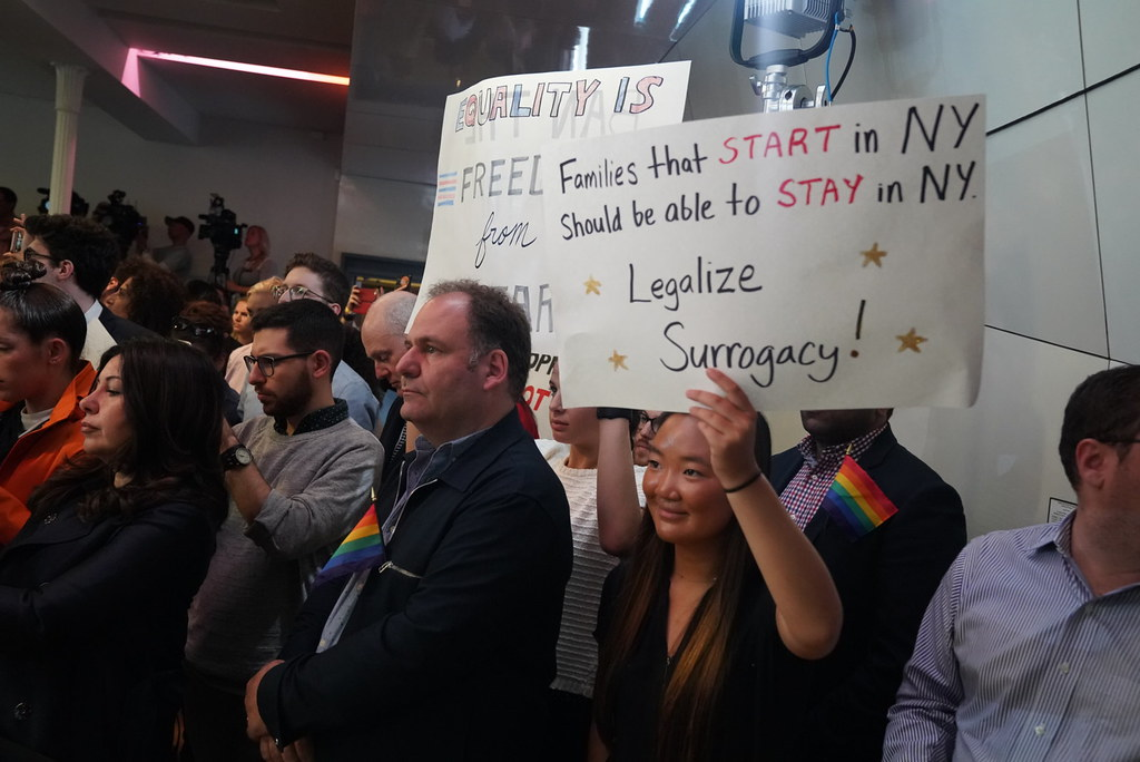 Governor Cuomo and Andy Cohen Rally to Legalize Gestational Surrogacy and Ban Gay and Trans Panic Defense Before End of Session