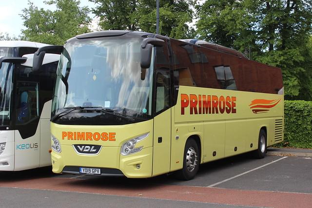 Primrose Coaches of Hexham YD19GPV