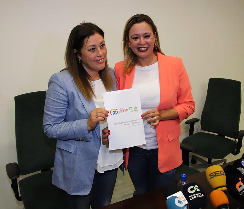 Pacto PSOE - P P - N C- SOMOS