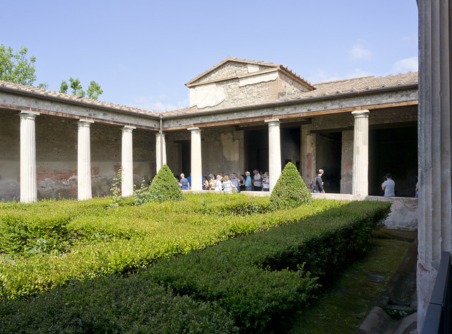 Pompeii today-Villa