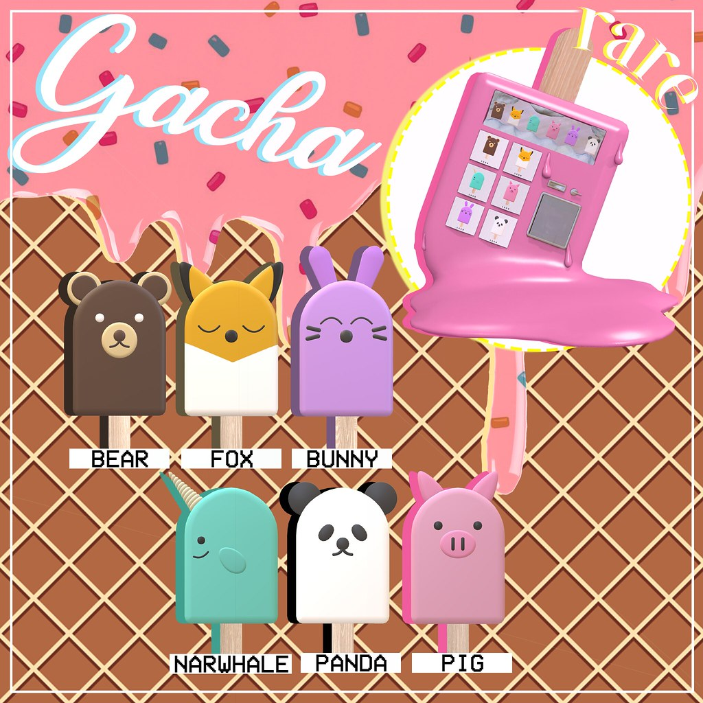 Ice Cream Gacha @ Equal10!