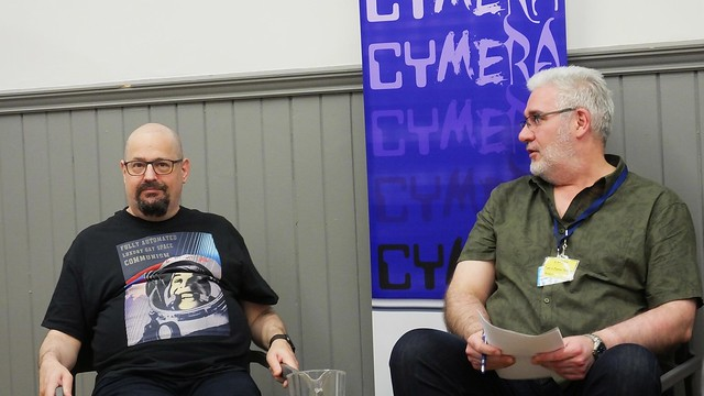Cymera 2019 - Charles Stross, Andrew J Wilson, Jonathan Whitelaw 06