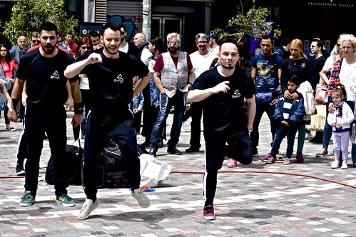 Monastiraki, Square, street dancers, Art of SOU (1)