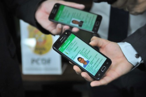 Nova carteira de identidade digital