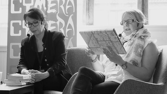Cymera 2019 - Helen Grant, Rachel Burge & Claire McFall 02