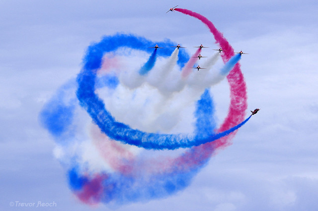 The RAFAT, Red Arrows, The Tornado Routine