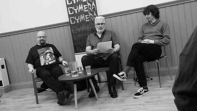 Cymera 2019 - Charles Stross, Andrew J Wilson, Jonathan Whitelaw 01