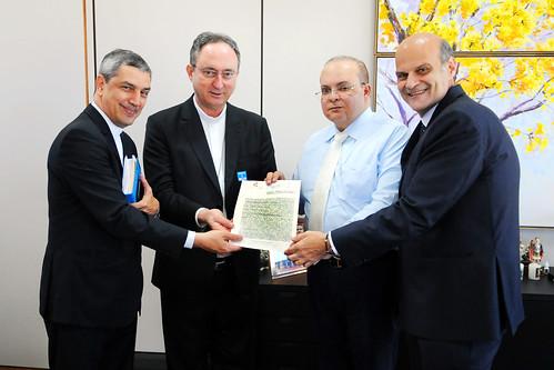 Governador recebe Dom Sérgio da Rocha