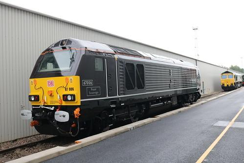 Royal Engine at Crewe