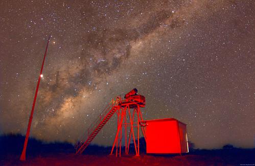 Milkyway at Namibia