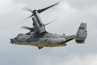 USAF CV-22B Osprey painted in Heritage Markings | by James Cutting