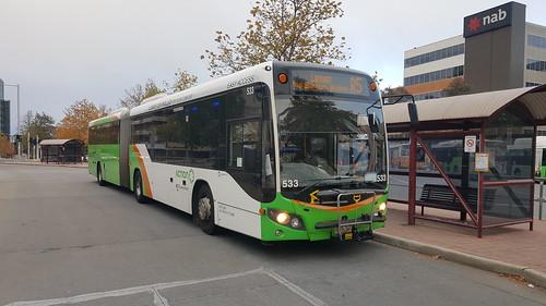 SCANIA K360UA CUSTOM CB80 ARTICULATED ACTION BUS 533
