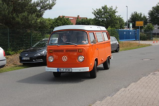 Volkswagen Bulli T 2 Camper    Haselünne Classics & Burgers 10.06.2019