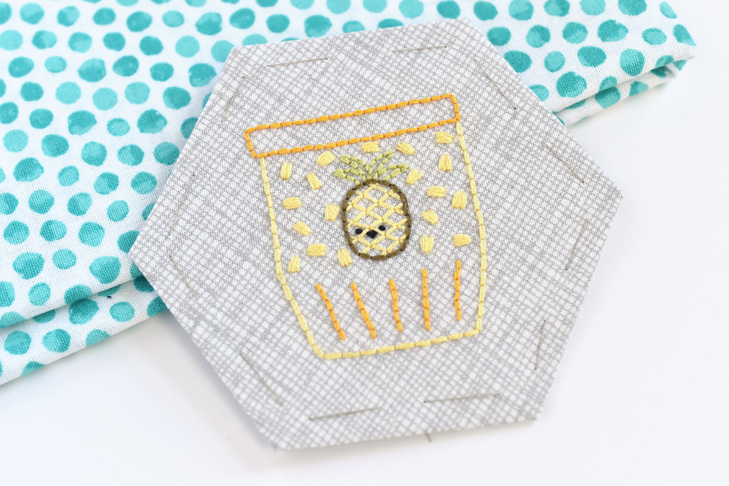Pineapple Marmalade Embroidery Pattern