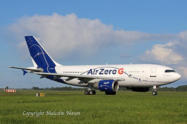 A310-304 F-WNOV NOVESPACE\AIR ZERO G