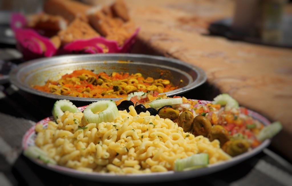 Another delicious feast, Mount Toubkal trek
