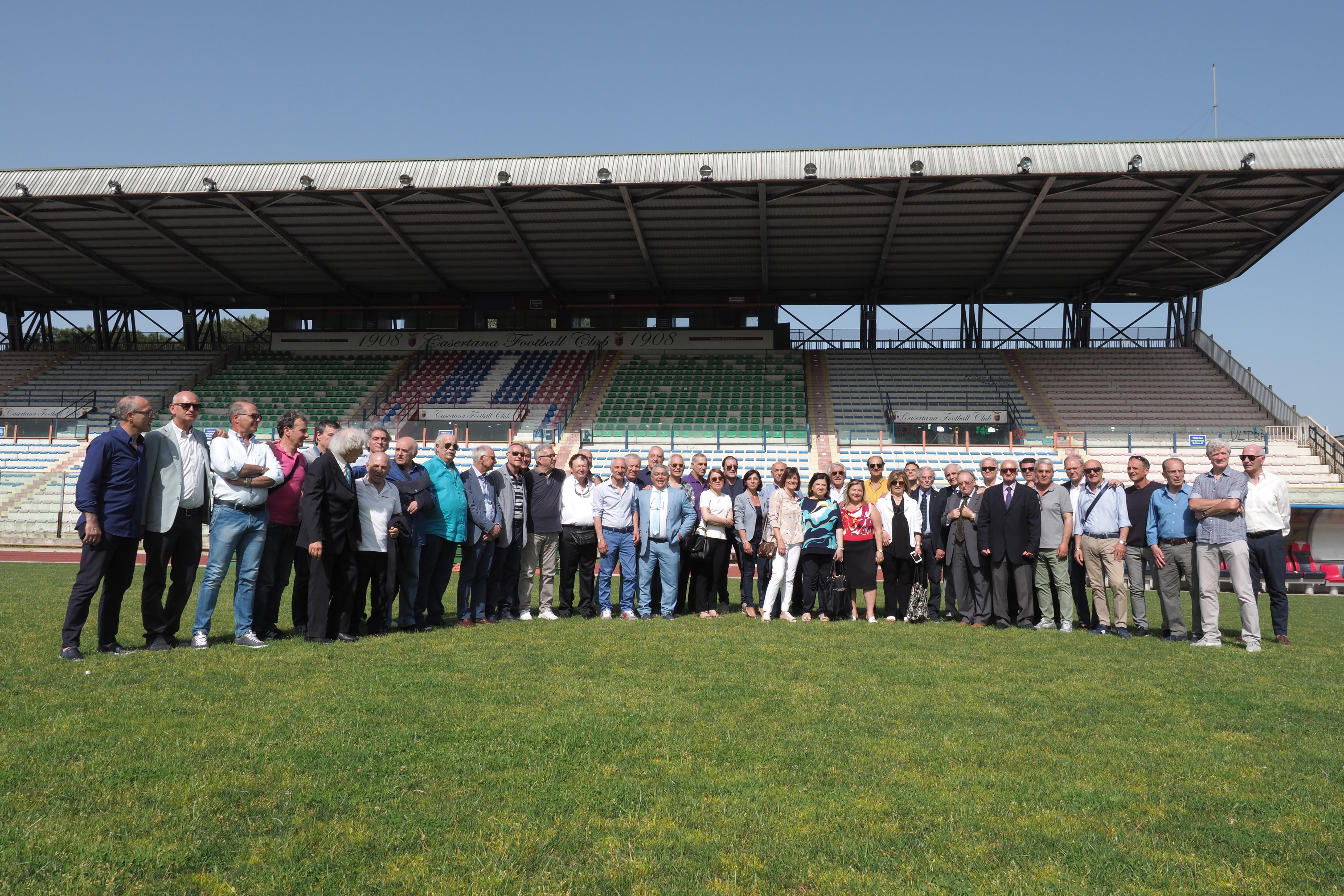 Veterani calcio provincia Caserta