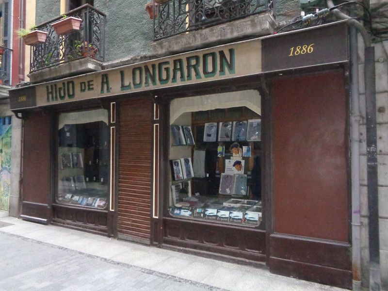 HIJO DE A.LONGARON 1886