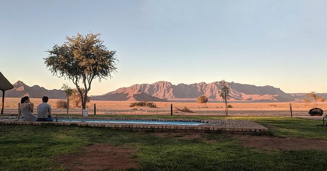 desert views @ sunset