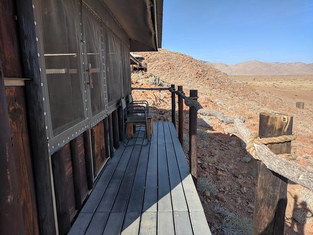 balcony @ Moon Mountain Lodge