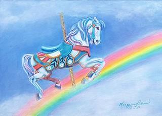 Rainbow Dreamer by Margien Burns - Advanced