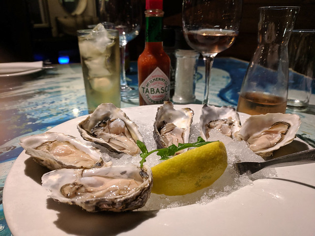 local oysters