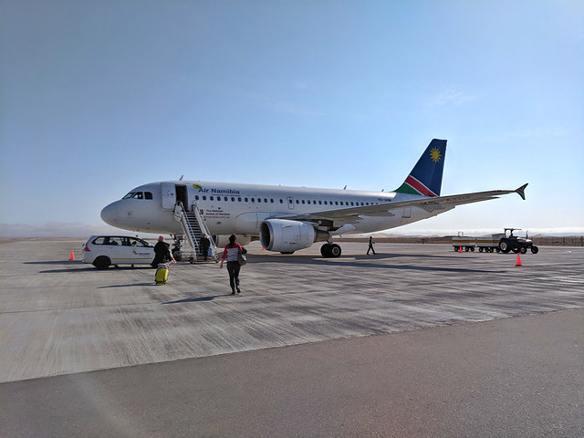 Air Namibia (WVB > CPT)